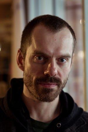 Porträtt av skådespelaren och regissören Thomas Aske Berg