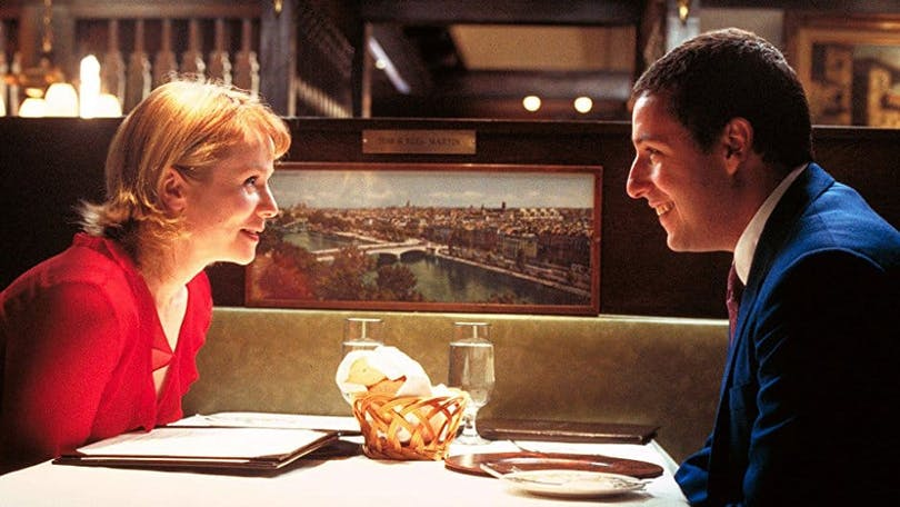 Adam Sandler och Emily Watson i Punch-Drunk Love