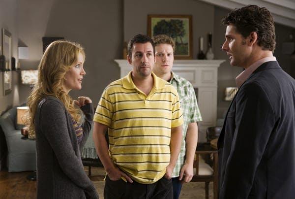 Adam Sandler, Seth Rogen och Erica Bana i Funny People