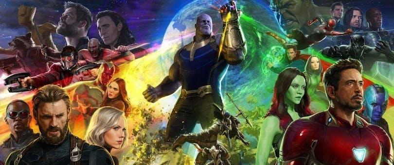 Ny poster från Avengers: Infinity War.
