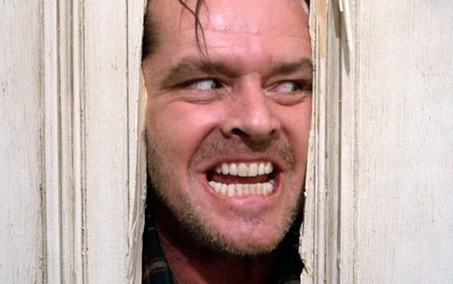 "Jack Nicholson högg nästan en kollega under ""The Shining"""