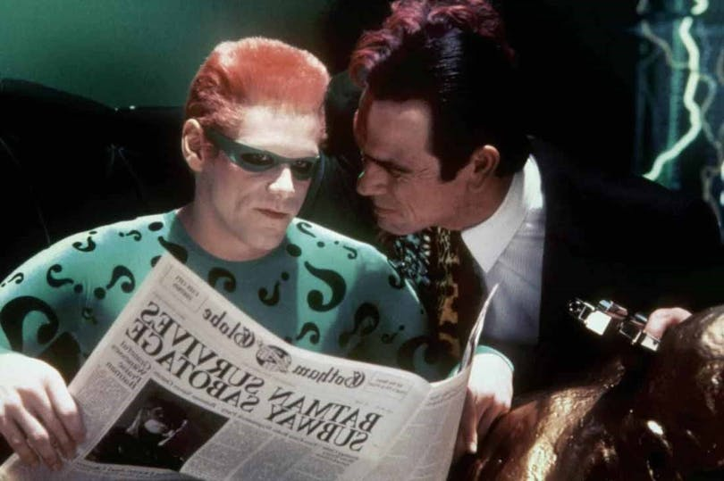 Jim Carrey Tommy Lee Jones i Batman Forever