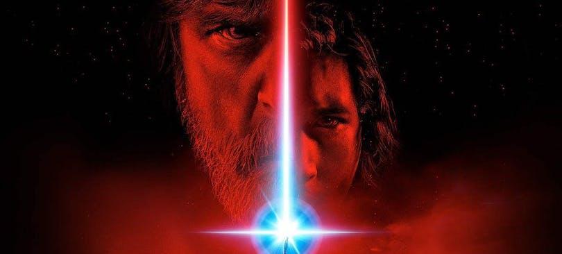 Poster från Star Wars The Last Jedi.