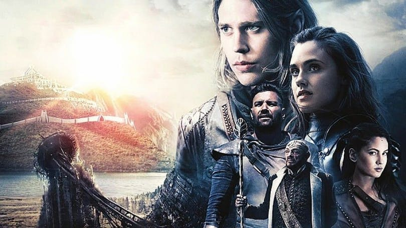 Uastin Butler och Manu Bennet i The Shannara Chronicles