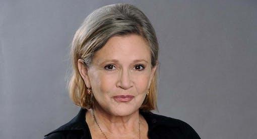 Carrie Fisher skickade kotunga till sexuellt ofredande producent