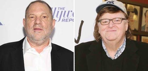 Michael Moore hyllar kvinnorna som talar ut om Weinstein