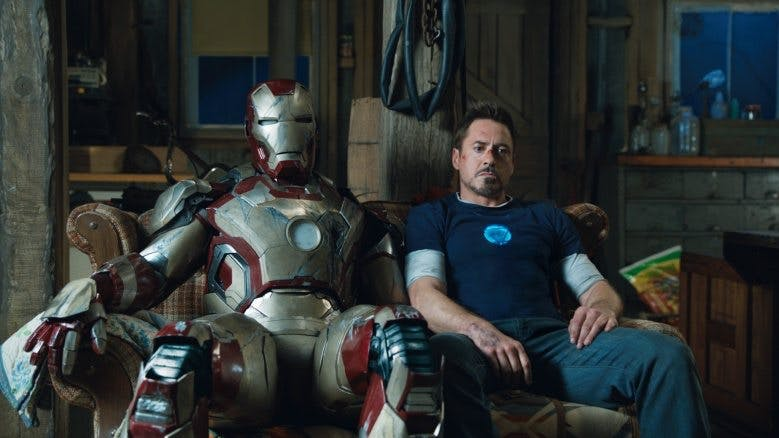 Robert Downey Jr. i Iron Man 3.