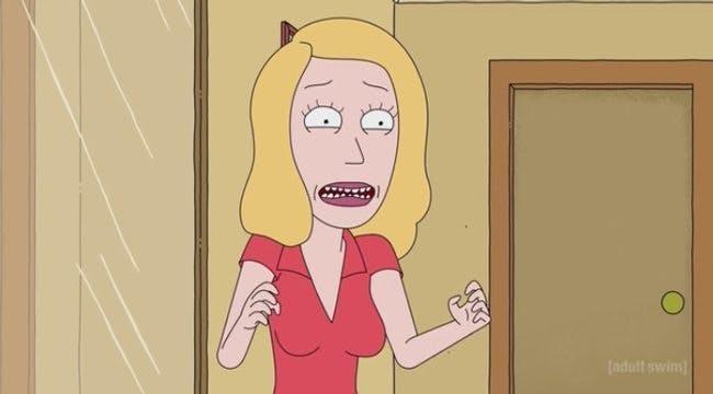 Beth får en panikattack