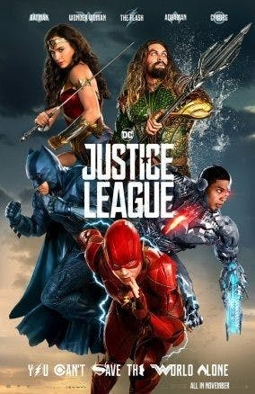 """Måste se: förskräcklig poster till """"Justice League"""""""
