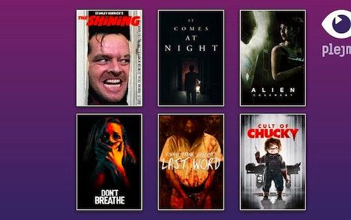 Ha en skräckfylld Halloween – På Plejmo!