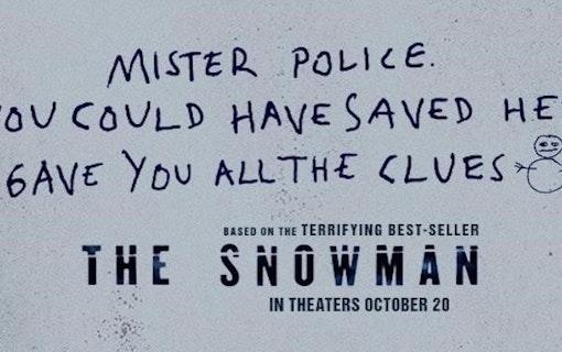 """Tomas Alfredson om varför """"The Snowman"""" floppade"""