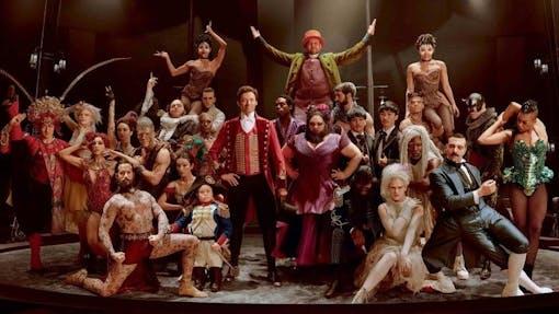 Nya bilder släppta till Hugh Jackmans The Greatest Showman