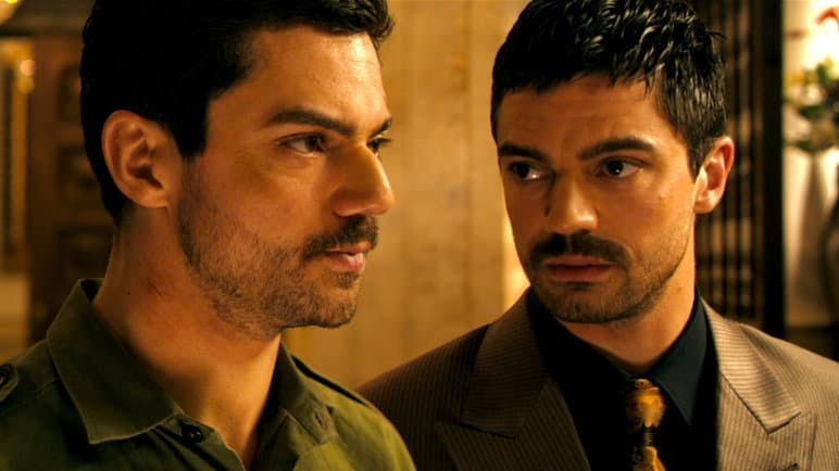 Foro på Dominic Cooper i biografin The Devil's Double