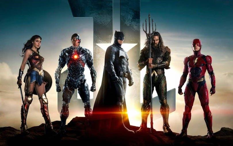 Hjältarna i Justice League.