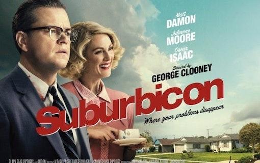 Suburbicon heter Matt Damons nya biofilm