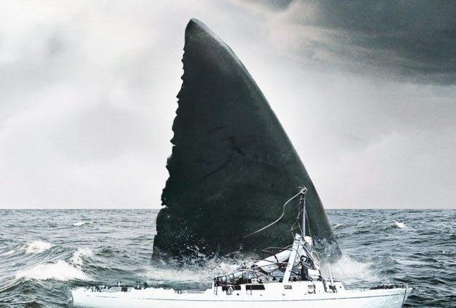 """Poster till filmen """"The Meg"""" - bästa filmtipsen 2018"""