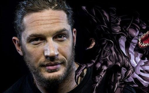 Inspelningen av Venom med Tom Hardy går framåt