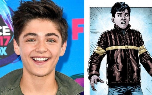 DC Comics film Shazam! anlitar Asher Angel som Billy Batson