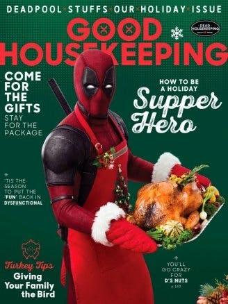 Deadpool poserar som kock