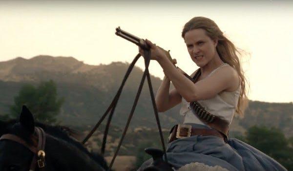 Evan Rachel Wood i Westworld.