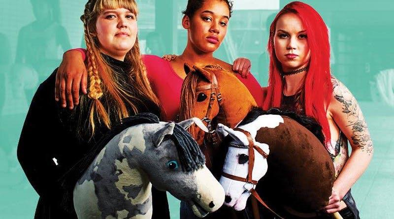 """Poster till filmen """"Hobbyhorse Revolution"""""""