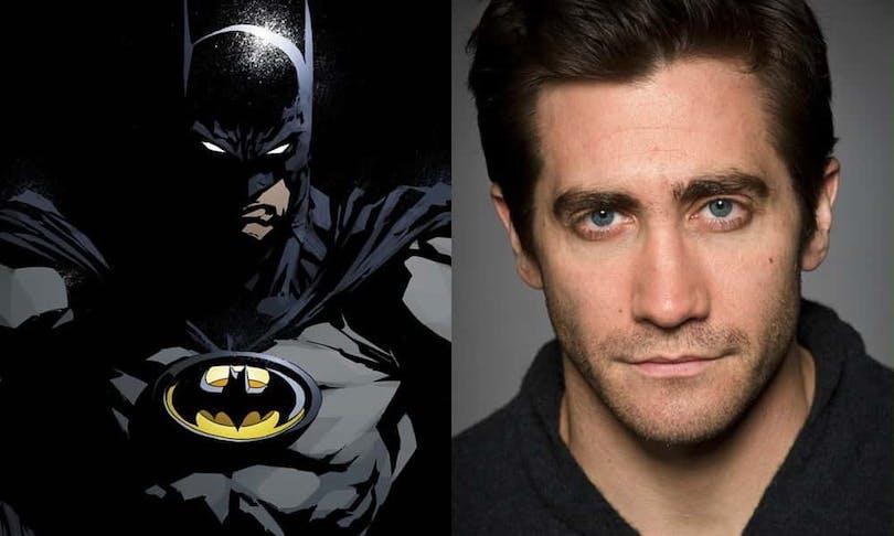 Här ser du en bild på Jake och Batman!