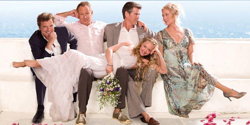 """Konceptbild till """"Mamma Mia 2"""" - bäst filmer 2018"""