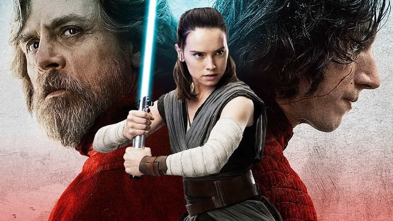 "Affisch för ""Star Wars: The Last Jedi"""