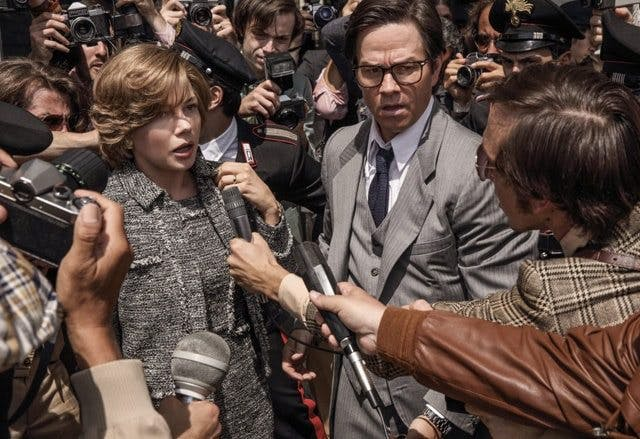 Michelle Williams och Mark Wahlberg i Ridley Scotts nya gisslandrama All the Money in the World.