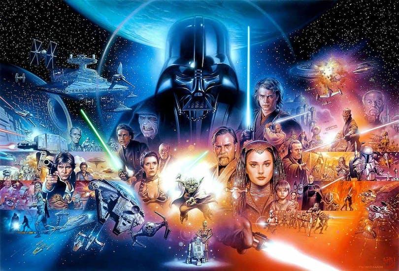 Bakgrund Star Wars