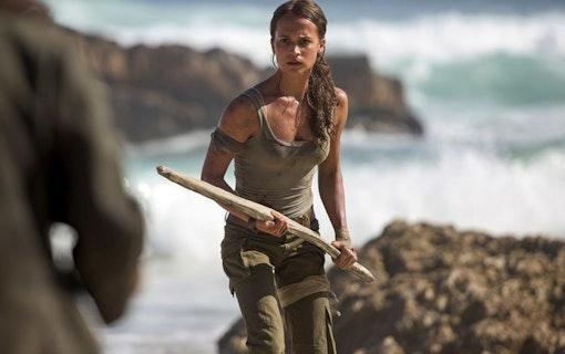 Nya bilder till Alicia Vikanders Tomb Rider