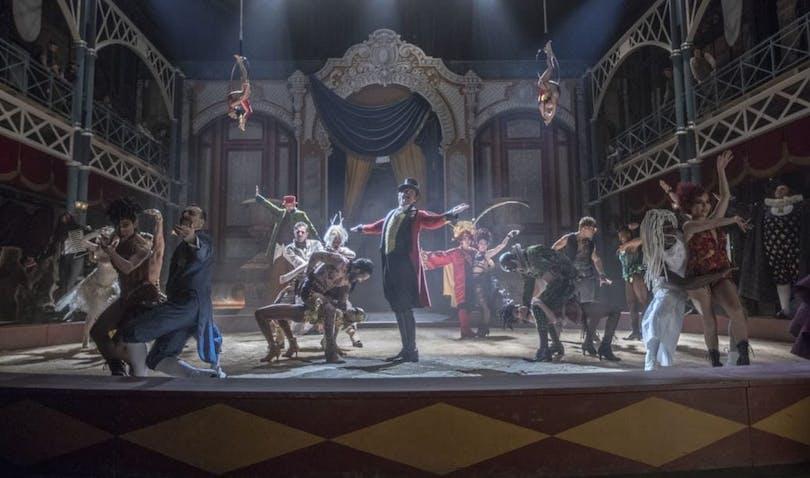 Hugh Jackman m.fl. i The Greatest Showman
