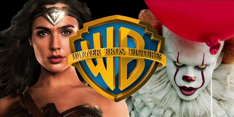Här kan du se Wonder Woman tillsammans med Pennywise.