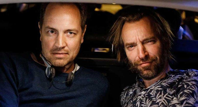 Regissörduon till den kommande svenska filmen Eld och lågor.