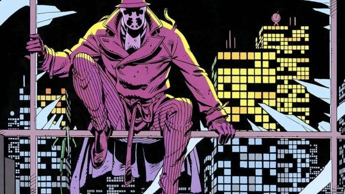 Rorcshach i serieromanen Watchmen.