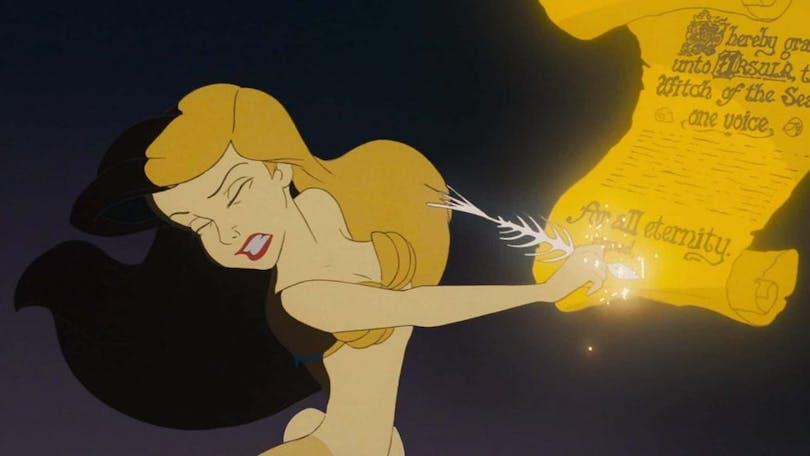Ariel från Den lilla sjöjungfrun.