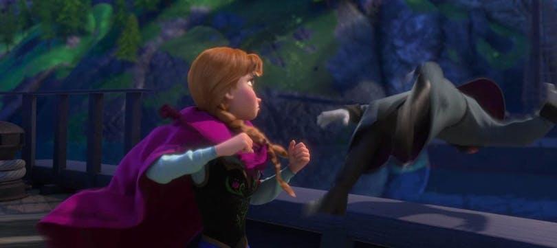 Bild från Frozen.
