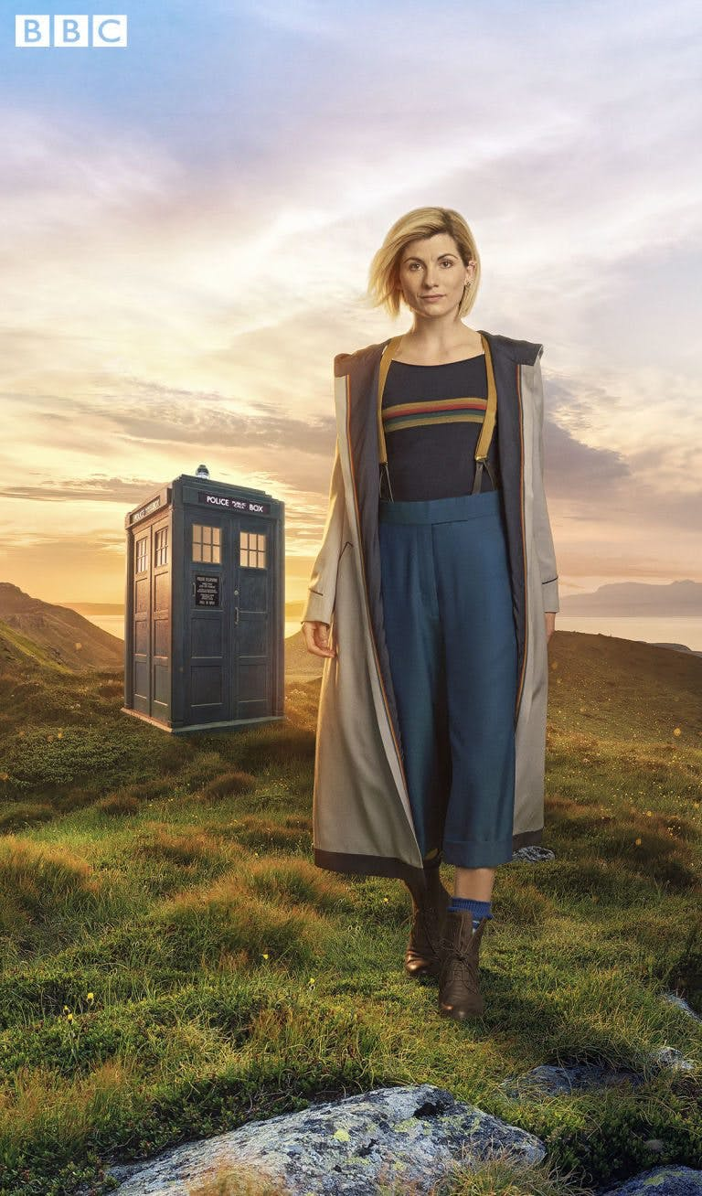 Jodie Whittaker som doktorn i Doctor Who.