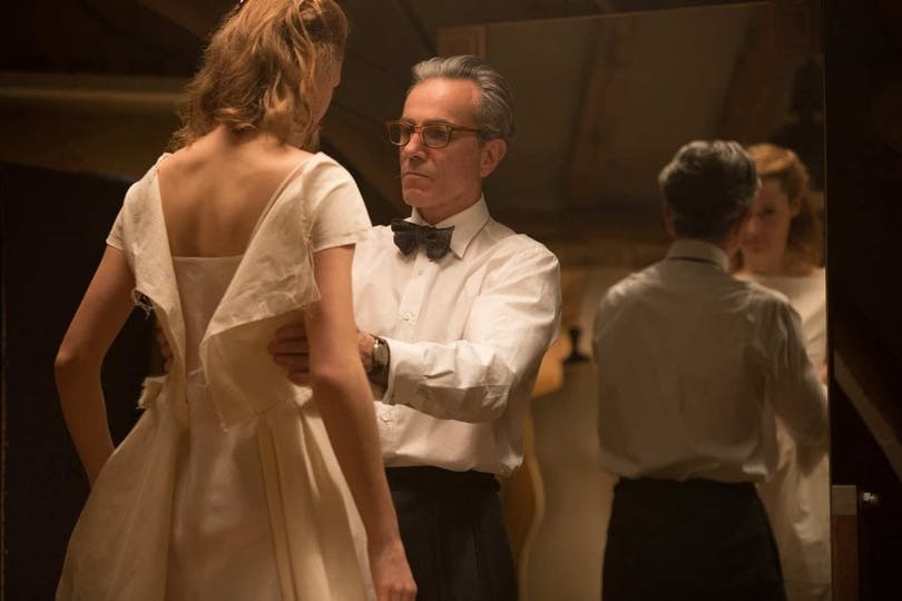 Daniel Day Lewis och Vicky Krieps i Phantom Thread.