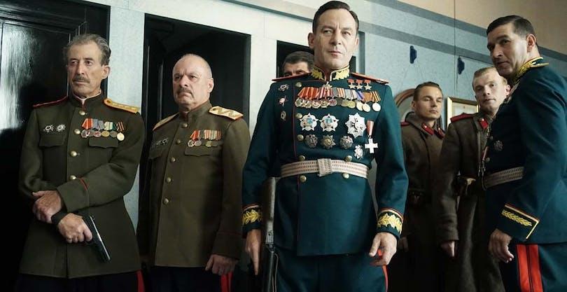 Bild ur The Death of Stalin av Armando Iannucci