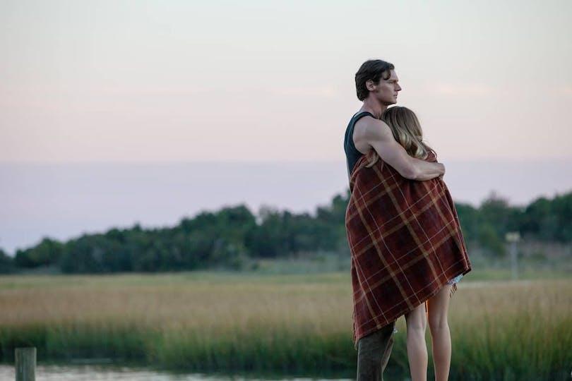 Benjamin Walker och Teresa Palmer i The Choice.