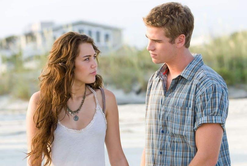 Miley Cryus och Liam Hemsworth i The Last Song.