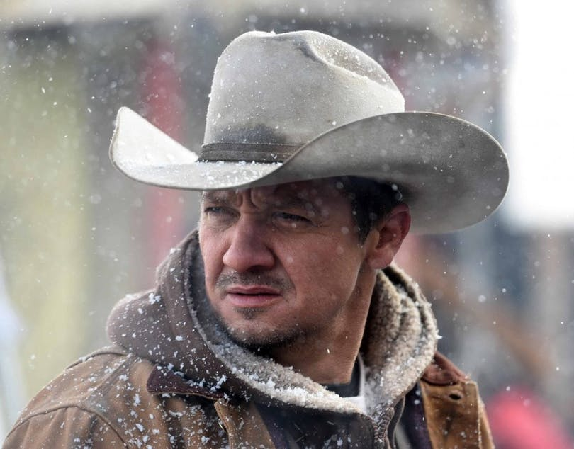 Jeremy Renner i Wind River