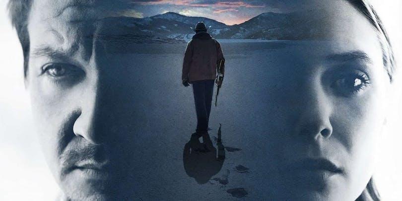 Affisch till Wind River med Jeremy Renner och Elizabeth Olsen