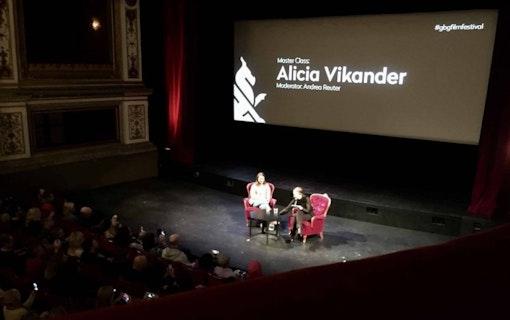 Alicia Vikander – lång intervju på Göteborg Filmfestival
