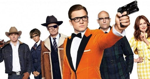 "Intervju: Taron Egerton och Mark Strong om ""Kingsman 2"""
