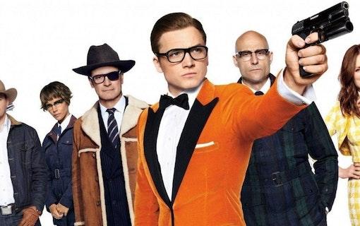 """Intervju: Taron Egerton och Mark Strong om """"Kingsman 2"""""""