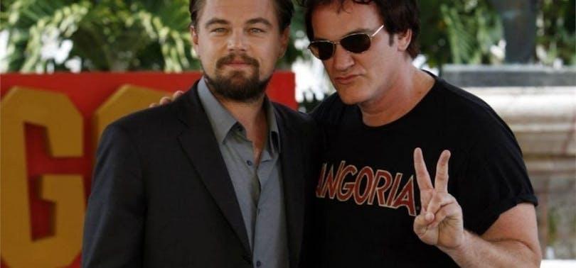 Quentin Tarantino och Leonardo DiCaprio