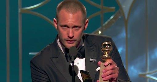 Golden Globe till Alexander Skarsgård!