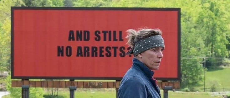Frances McDormand i Three Billboards outside Ebbing, Missouri (2017)